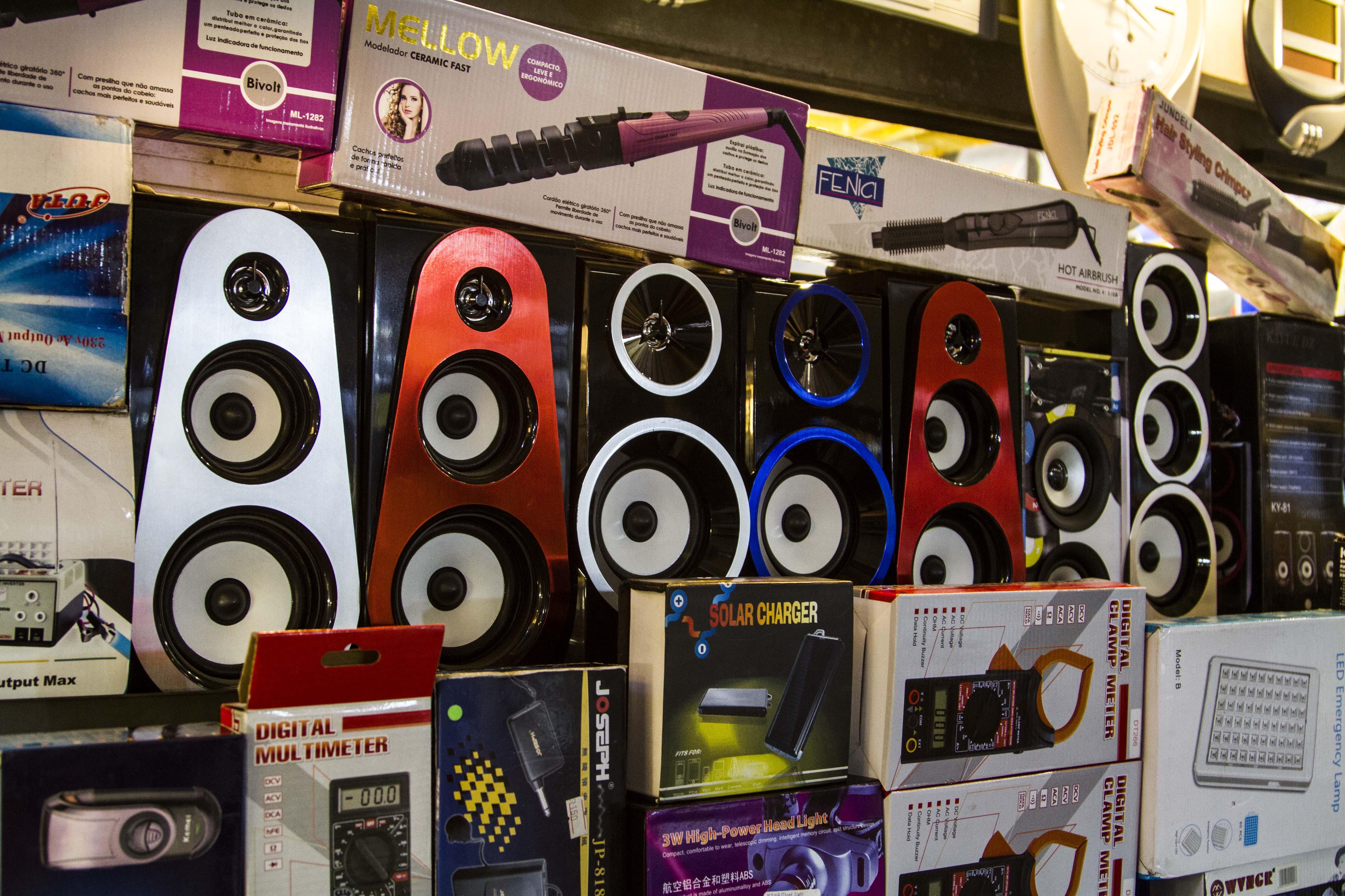 Montana Family Market_full sized free standing speakers