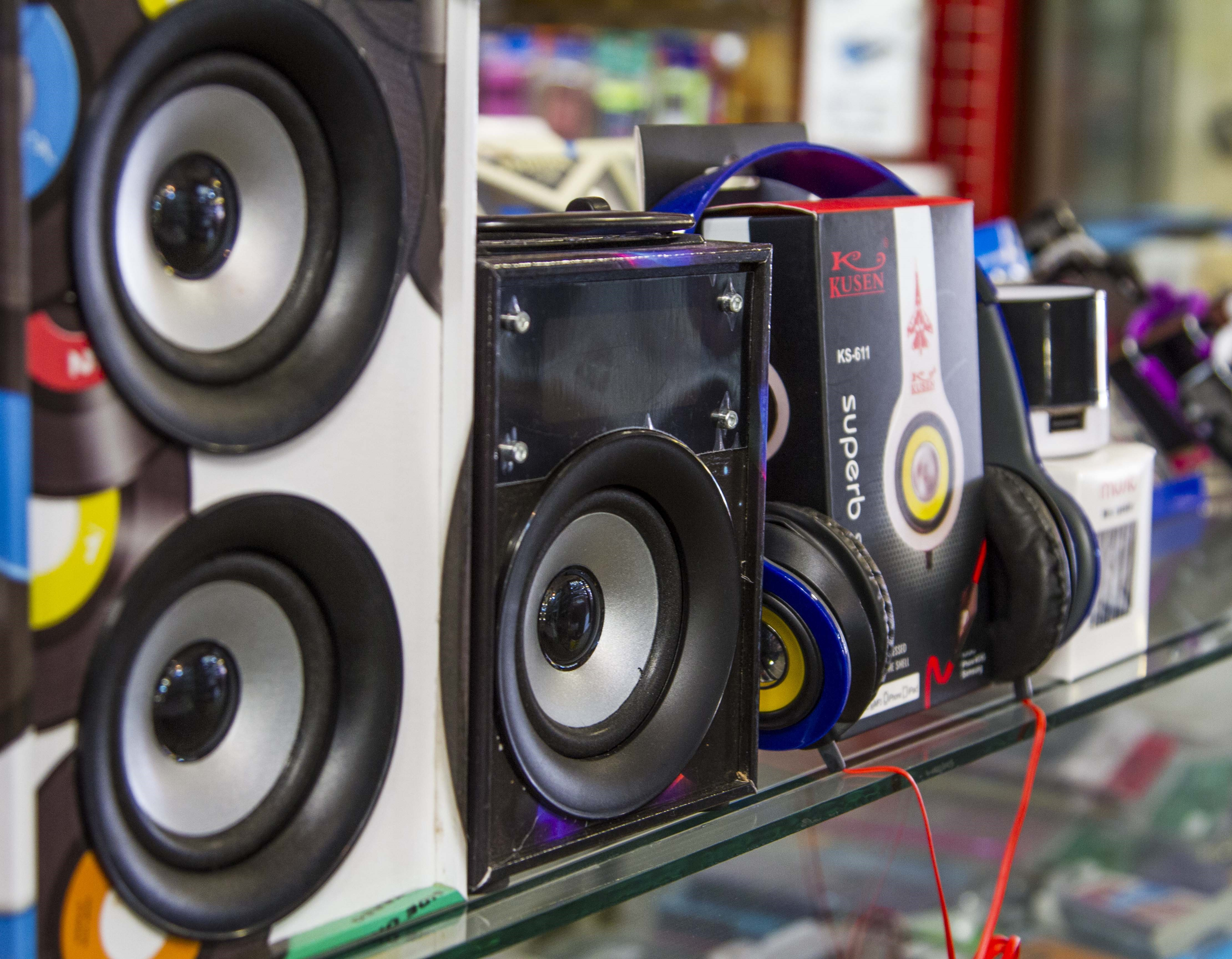 Montana Family Market_SS Cellular and Communication_various sizes of Bluetooth speakers