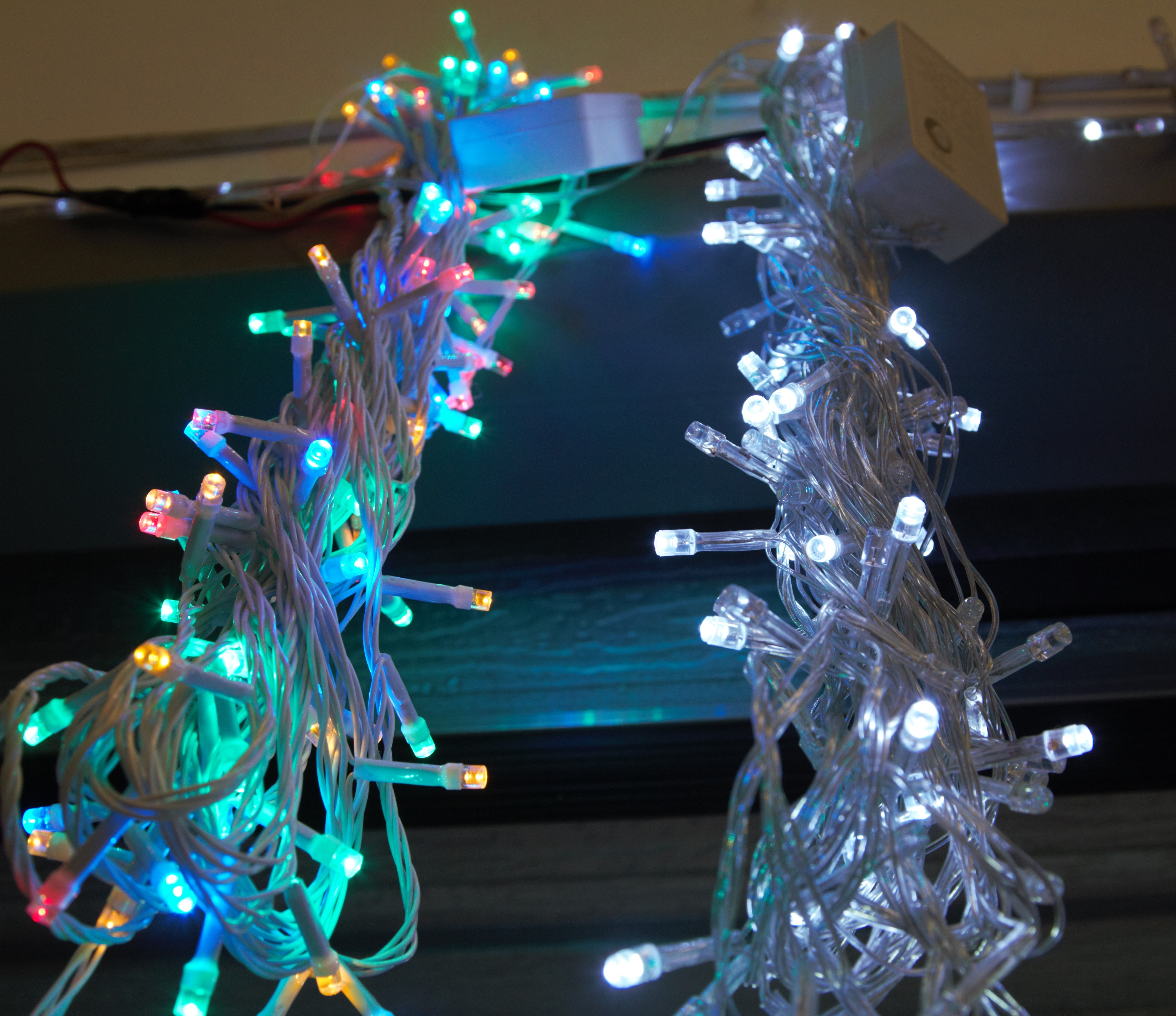 Montana Family Market_Z. Ali Electronics_white and colored fairy lights
