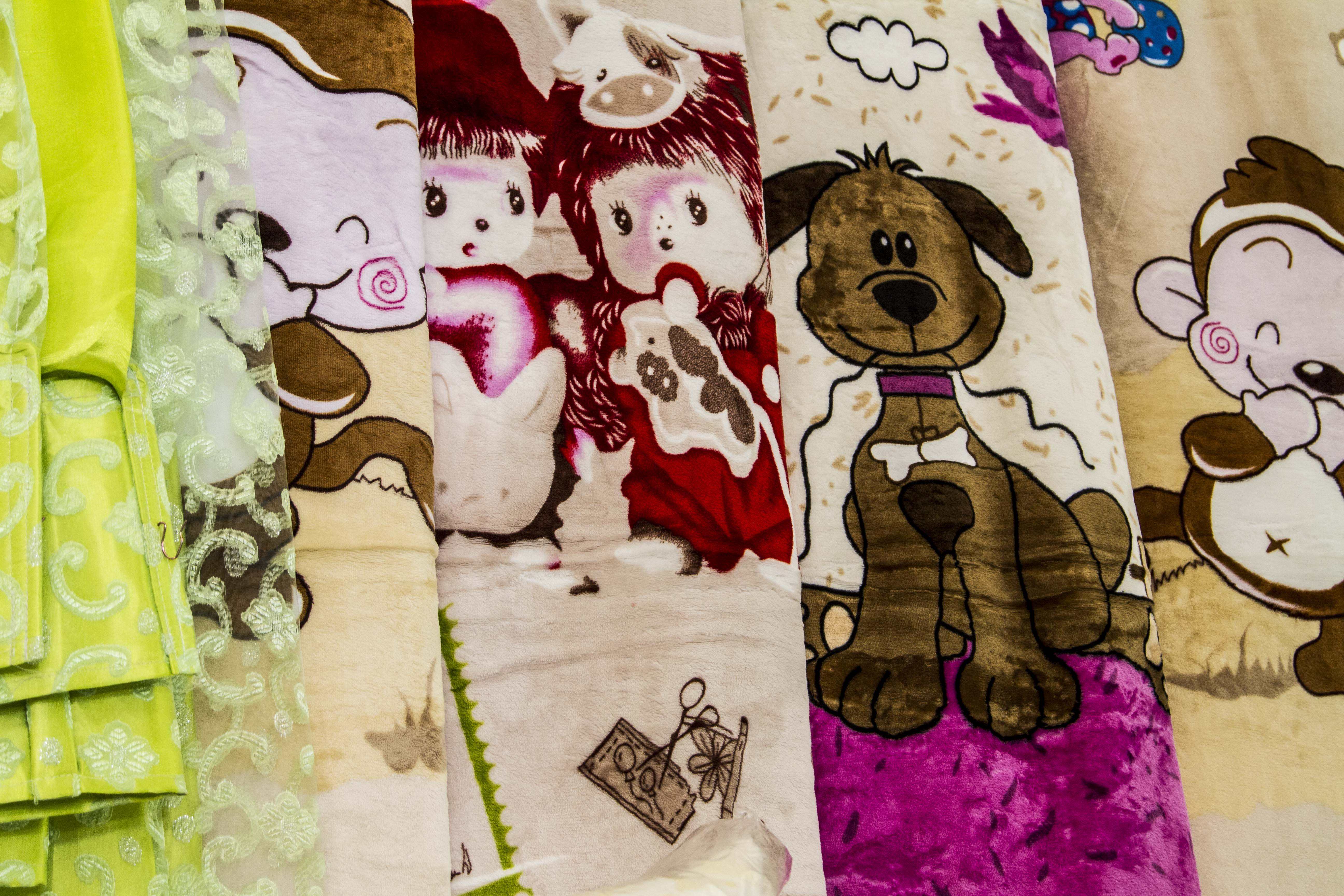 Montana Family Market_Sufi Curtain House_children's cartoon blankets