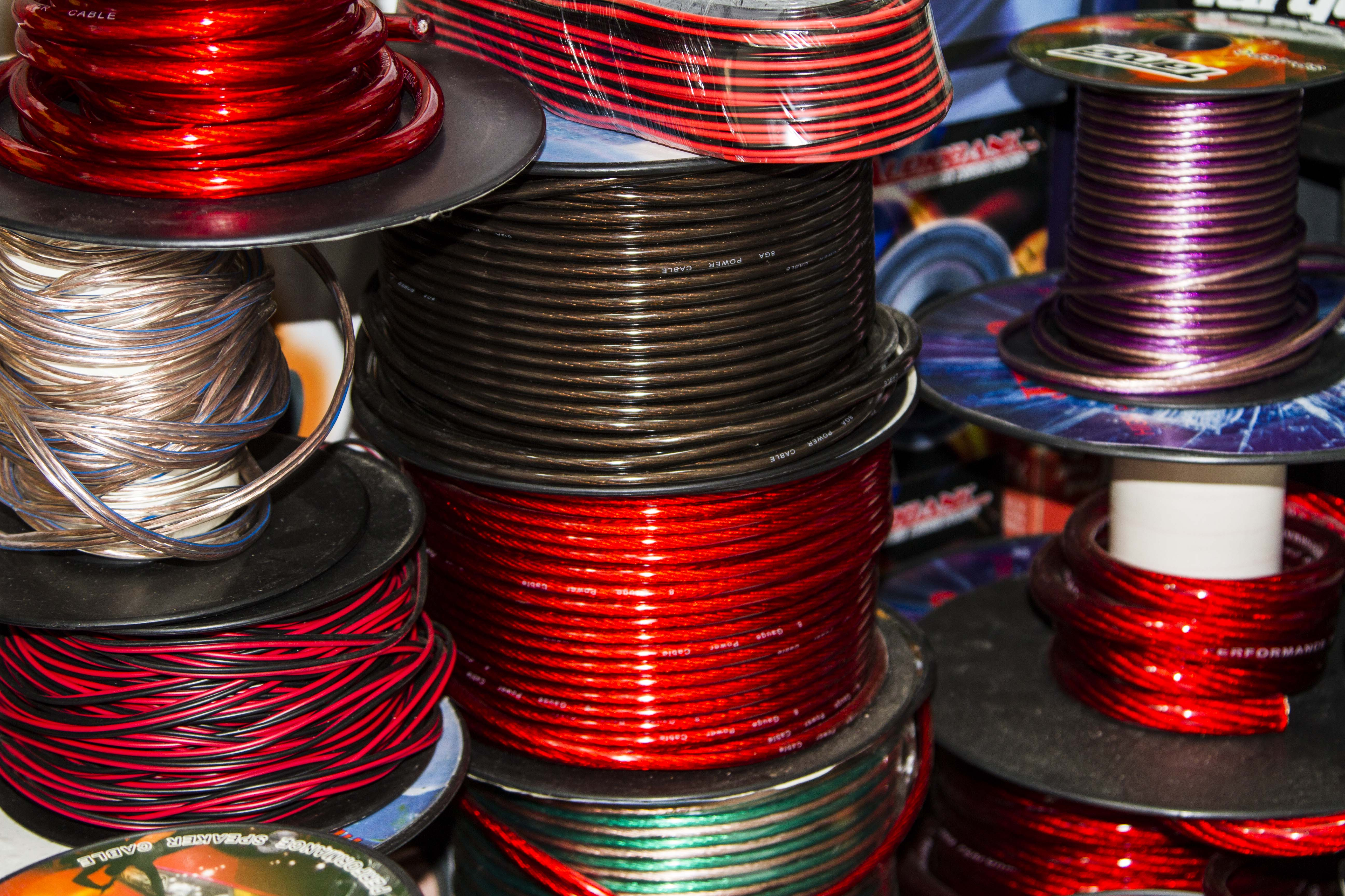Montana Family Market_Nazrul Car Sound_different types of car wire