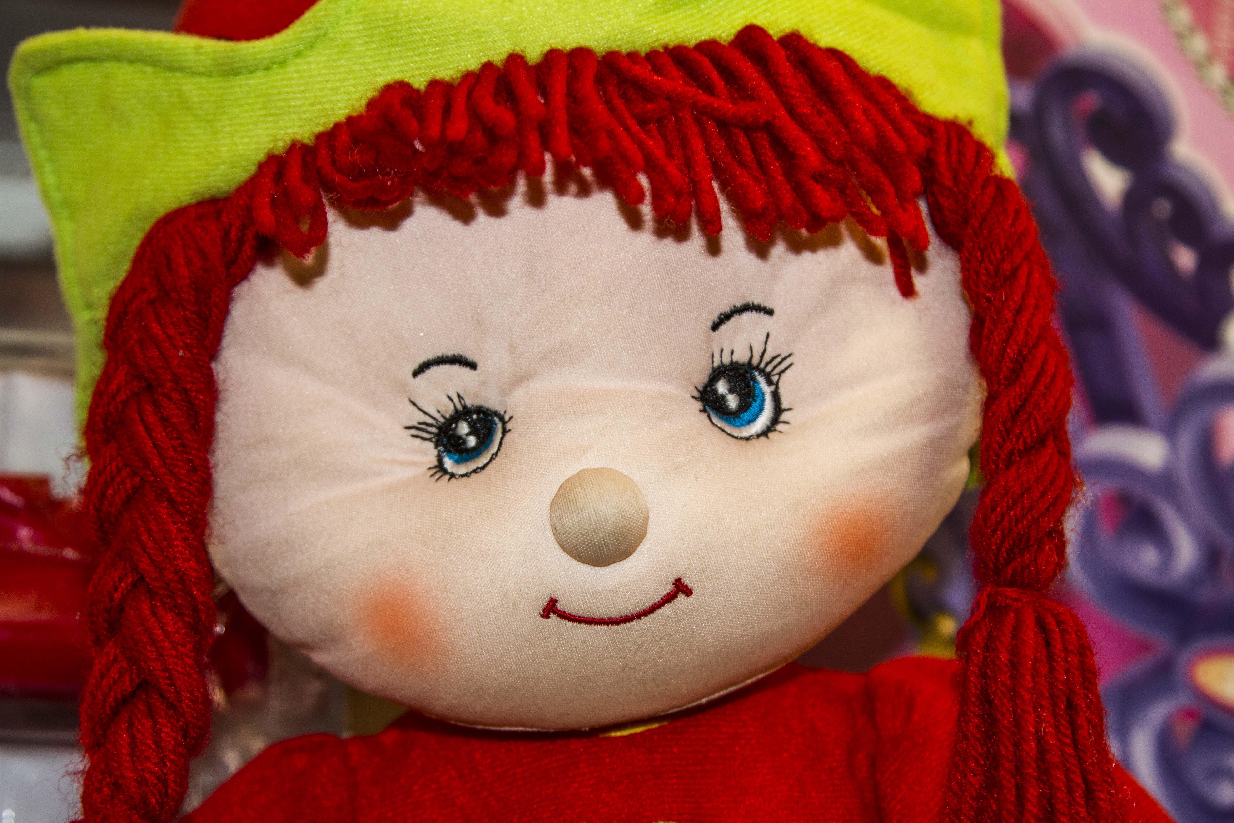 Montana Family Market_rosy cheeked cloth doll