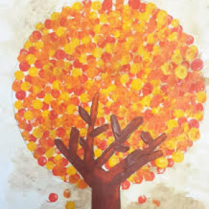 Montana Family Market_DIY Autumn tree