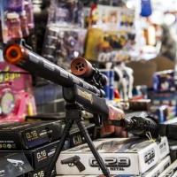 Montana Family Market_toy mounted machine gun