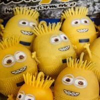 Montana Family Market_minion shaped water filled squeeze balls