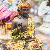 Montana Family Market_Vape Jam & Gift_mini peaceful Buddha statue