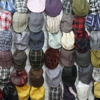 Montana Family Market_different patterns of newsboy caps