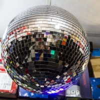 Montana Family Market_Adam's Sound_classic disco ball