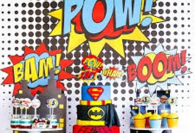 Montana Family Market_Superhero Party