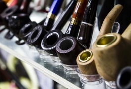 Montana Family Market_Awais Trading_light and dark wood smoking pipes