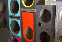 Montana Family Market_Qayyum Traders_colorful speaker boxes