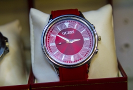 Montana Family Market_Costume Jewelry_stylish red men's watch