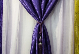 Montana Family Market_Sufi Curtain House_white on purple curtains