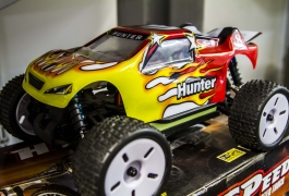 Montana Family Market_Mumir_red and yellow flame remoted controlled car