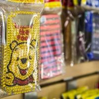 Montana Family Market_Shanzay Cellular_Winnie the Pooh rhinestone phone cover