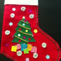 Montana Family Market_Sew your own Christmas sock