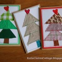Montana Family Market_Arts Program_Fabric Christmas Trees