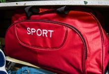 Montana Family Market_Waqas Trading CC_bright red sports duffel bag