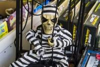 Montana Family Market_Qasim Raza Trading_electronic talking skeleton in jail