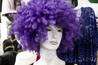 Montana Family Market_Mostafa_purple afro wig