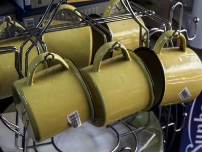 Montana Family Market_House of Appliances_set of metal mugs