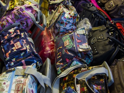 Montana Family Market_Krishna Bag Shop_rows of handbags