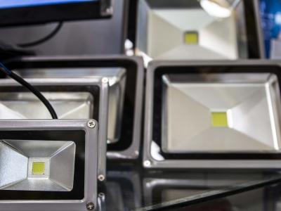 Montana Family Market_Z. Ali Electronics_LED flood lights in different sizes