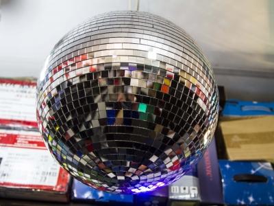 Montana Family Market_Adam's Sound_classic disco ball